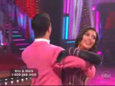 Kim Kardashian Dancing with the Stars Dance 1 Fox Trot