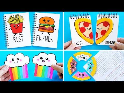 DIY BFF SCHOOL SUPPLIES for Back To School! Easy & Cute School Hacks