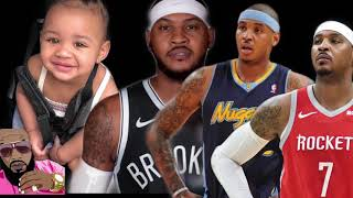 Instant Karma Carmelo Anthony Disowns His Daughter And Nba Disowns Him