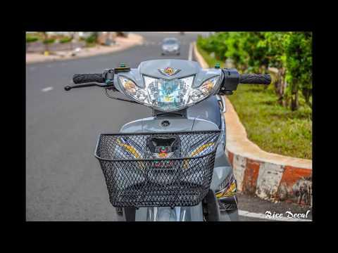 Yamaha Sirius 110 ximang  Rice decal Sticker