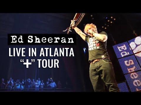 Ed Sheeran in America (Atlanta)