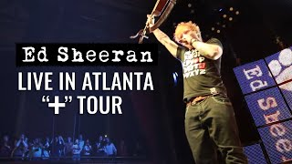 Ed Sheeran in America (Atlanta)