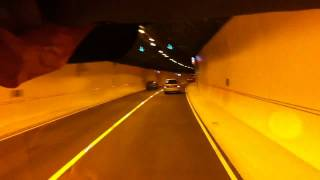 Hindhead Tunnel opening