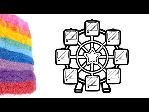 Ride Ferris Wheel At Carnival Coloring Best Place To Color Algebra Tutor  Kumon Level Coloring Pages Ferris Wheel ... | 360x480