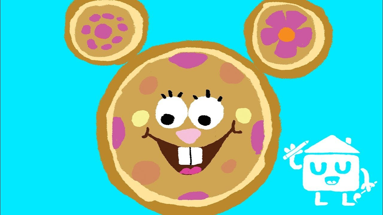 mickey mouse clubhouse sandy from spongebob squarepants disney