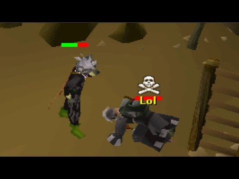 Pretending to do Wildy Slayer (Anti Pking)