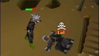 Pretending to do Wildy Slayer (Anti Pking)