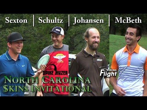 North Carolina Skins Invitational 2015 Spike Hyzer NC Disc Golf Skins Match