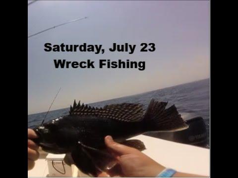 Ocean City, MD Wreck Fishing