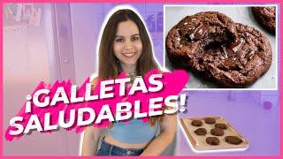 ¡GALLETAS DE CHOCOLATE SALUDABLES!