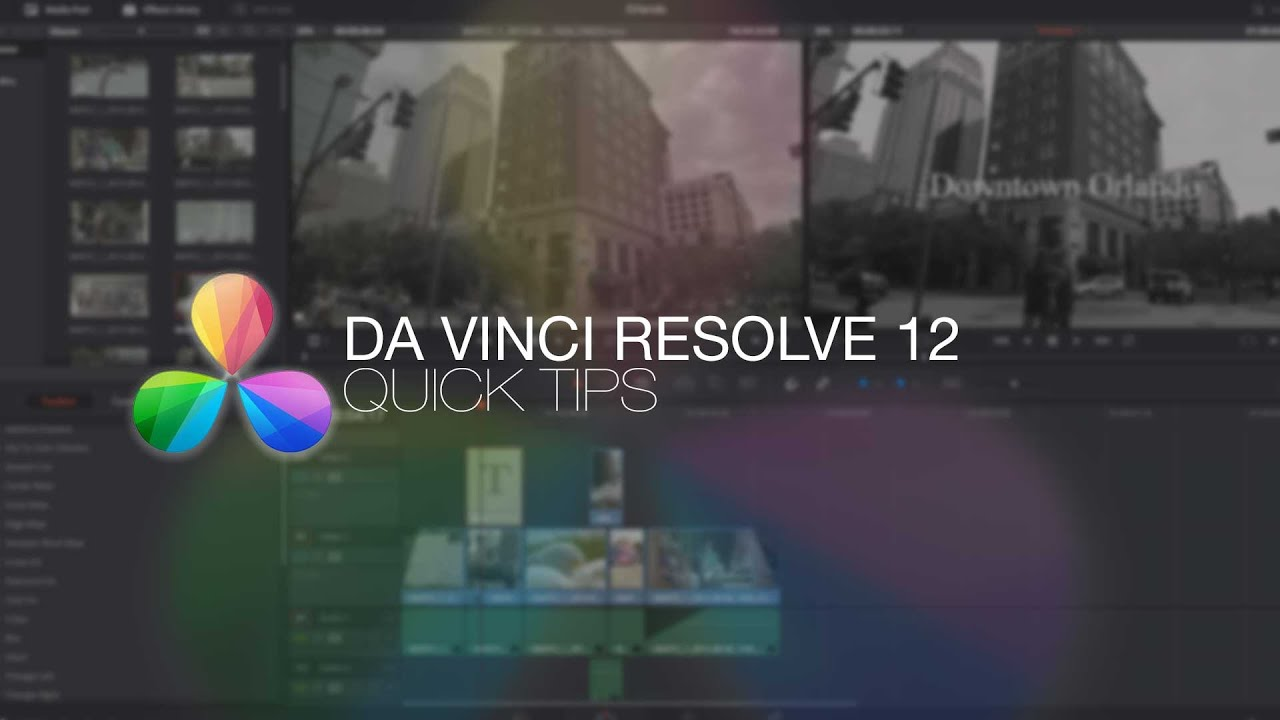 davinci resolve 12 lite quick tip stereo track to mono track youtube. Black Bedroom Furniture Sets. Home Design Ideas