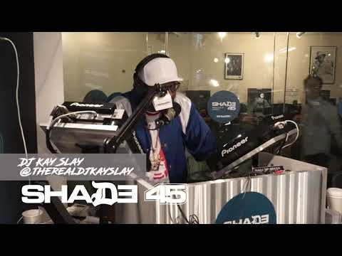Dj Kayslay interviews Money BaggYo live at Shade45 - 8/9/17