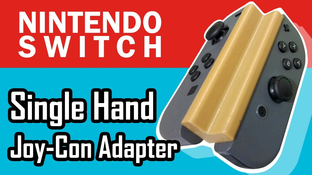 An engineer designed two Nintendo Switch controller adapters