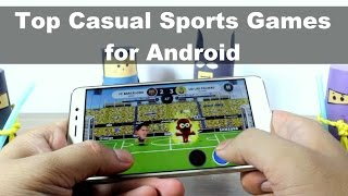 Top 5 Casual Sports Games for Android