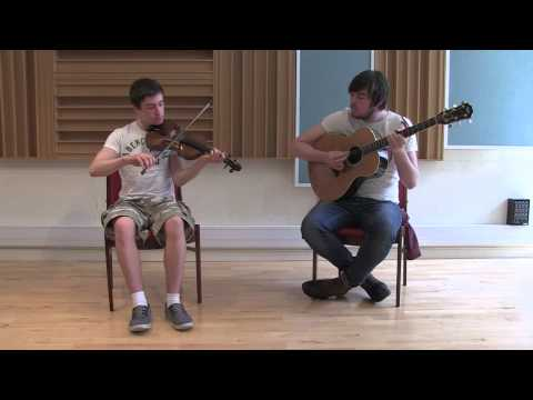 Carolan's farewell to music, harp piece ; and reel / Cathal Caufield, fiddle ; John Flynn, guitar