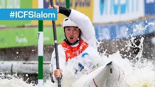 K1M Heat Run 2 Slalom: Odd Bibs Numbers   Prague 2015- Streaming A