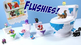 Flush Force Series 1 Blind Toilet Flushies & Collect-A-Bowl Toys Spin Master