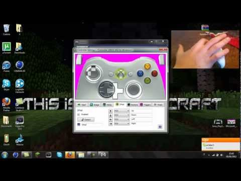 how to play minecraft pc with a ps3 controller