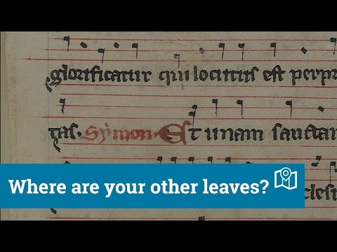 If Books Could Talk: Where are your other leaves? Re-discovering the Wilton Processional [Episode 5]
