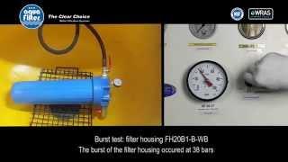 Магистральный фильтр для воды высокой производительности BigBlue 20