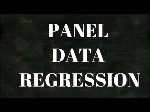 Panel Data Regression | Econometrics | Fixed-Random Effect |  Data Science
