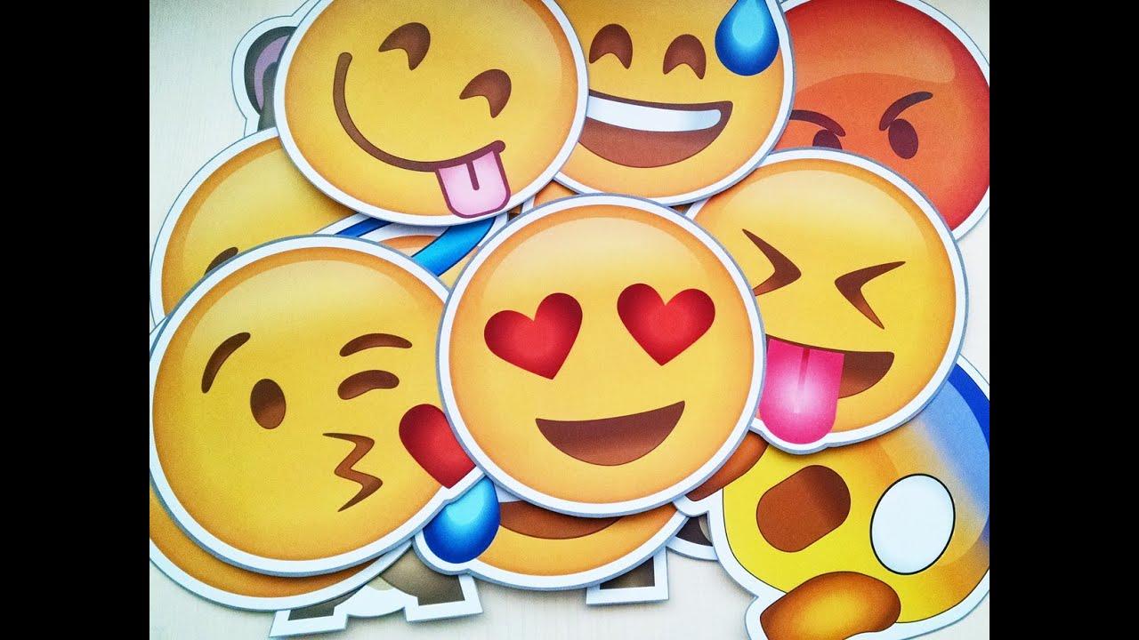 Demonstração do produto: Plaquinhas Divertidas Emojis para ...