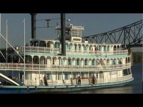 Riverboat Twilight Overnight Mississippi River Cruise
