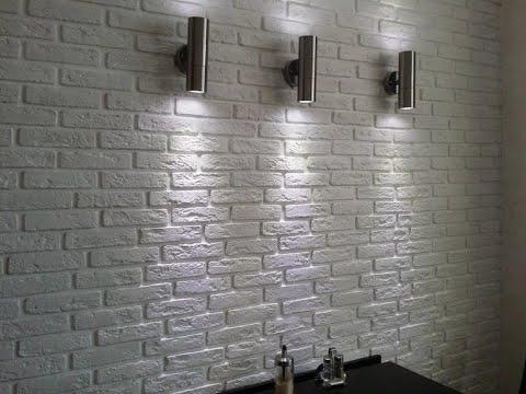 Клеим камень декоративный кирпичик ВЕНЕЦИАНСКИЙ  -мастер класс