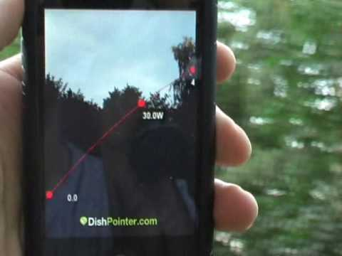 DishPointer Augmented Reality (iPhone Satellite Finder)