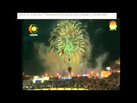 Peyama Newrozê ya Kak Mesûd Barzanî. Di Newroza 2013an de.