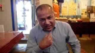 奈良県・大和郡山市のインド家庭料理レストラン「サンタナ」のオーナー...