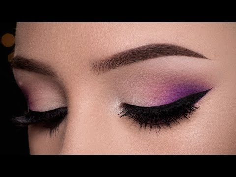 Easy Purple Makeup Tutorial