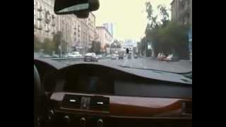 MOSCOW DRIVING STYLE BMW M5