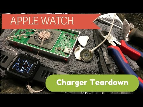 Apple Watch Charger Disassembly