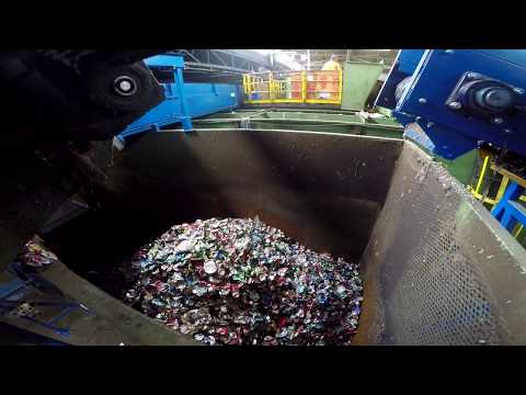 Tour Hamilton's Recycling Facility – Containers