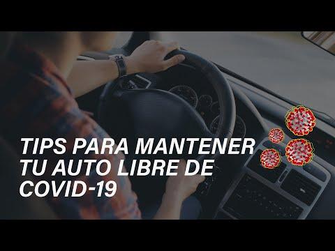 Tips para limpiar tu coche durante la pandemia de COVID-19