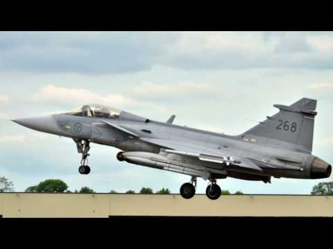 Indo Def 2016: Saab JAS-39 Gripen test pilot interview
