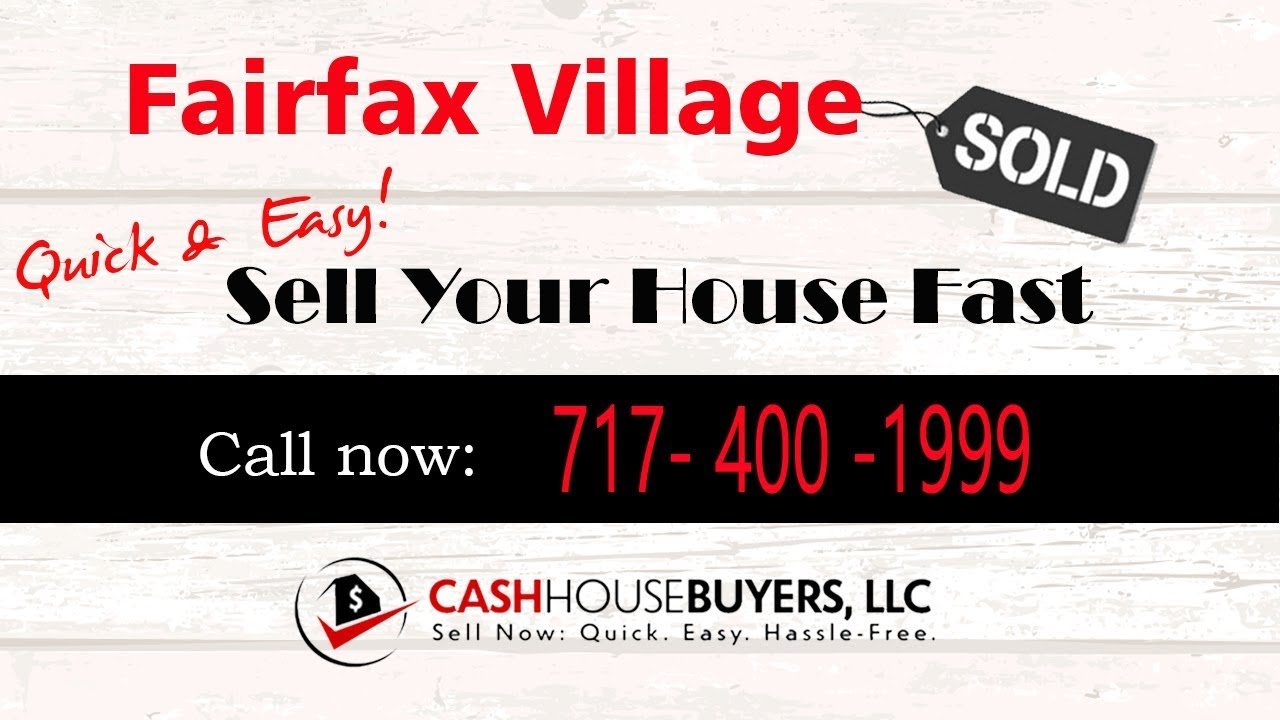 HOW IT WORKS We Buy Houses  Fairfax Village Washington DC   CALL 717 400 1999   Sell Your House Fast