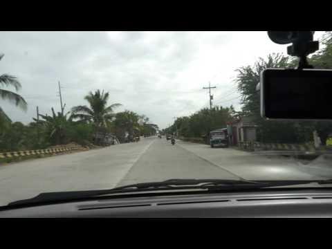 Driving on Bataan Superhighway April 2016
