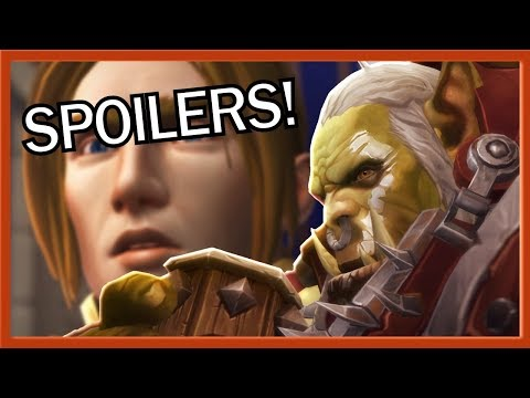Patch 7.3.5 Alliance and Horde Epilogue Cutscenes! - (My Reaction/Thoughts)