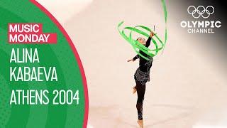 Alina Kabaeva s Ribbon Routine to Sphynx at Athens 2004 Music Monday