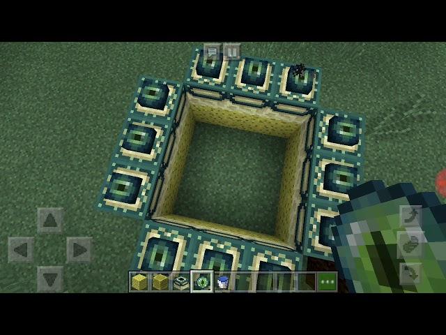Cara membuat portal spongebob di minecraft