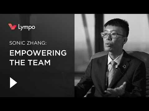 Lympo.io advisor Sonic Zhang empowering the whole team to achieve a dream