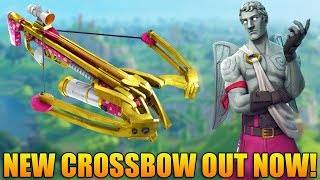 NEW CROSSBOW AND UPDATE! - 850+ Wins - Level 100 - Fortnite Battle Royale Gameplay - (PS4 PRO)