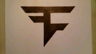 faze draw easy drawing clan symbol step sign emblem sketch tutorial doodle getdrawings