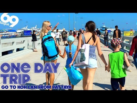One Day Trip! Go to Koh Lan from Pattaya!