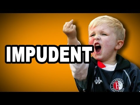 Learn English Words - IMPUDENT - Meaning, Vocabulary with Pictures and Examples