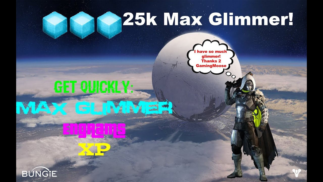 Destiny max glimmer farm easy youtube