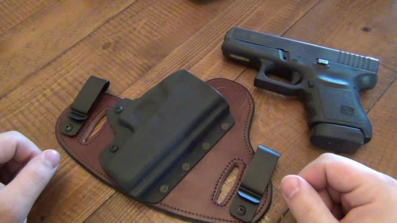 Holster Review : Hidden Hybrid Holsters (Glock 36) - YouTube