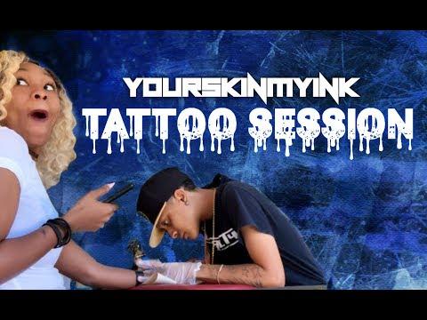 """YSMI TV VLOG """"Tattoo Session"""""""